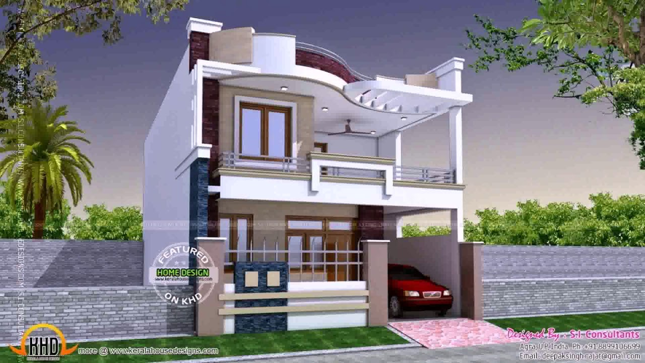 Indian Small House Elevation Front Design