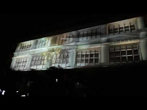 Video Mapping on Siola Building Surabaya