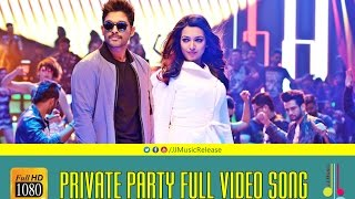 Private Party Malayalam Full Video Songᴴᴰ - YodhavuTheWarrior Malayalam(2016) Official|AlluArjun