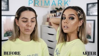 I TESTED OUT PRIMARK MAKEUP AND WOW, THIS IS NOT A DRILL *DUPES*