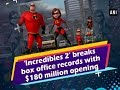 'Incredibles 2' breaks box office records with $180 million opening -  Hollywood News