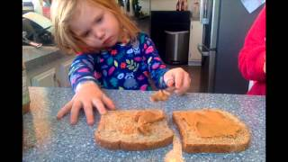 Georgie's How To's: Making A Peanut Butter And Honey Sandwich