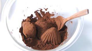 초코 마들렌 만들기 Chocolate Madeleine…