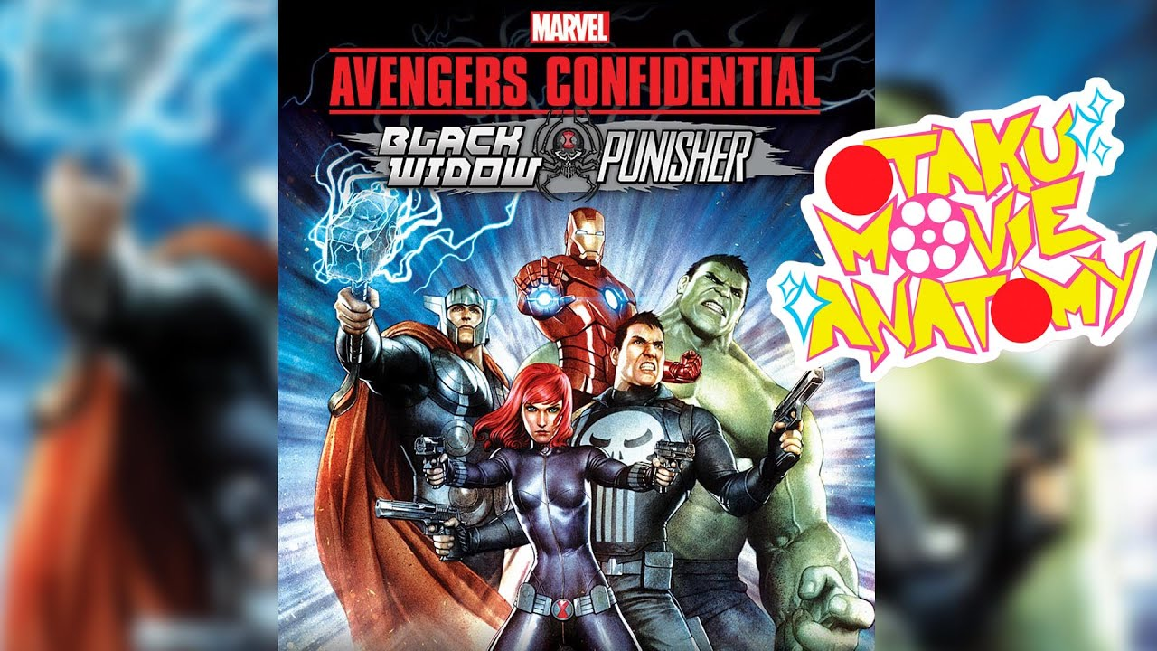 Avengers Confidential: Black Widow & Punisher Review | Otaku Movie ...