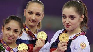 Выступление сборной РФ по спортивной гимнастике в Баку!