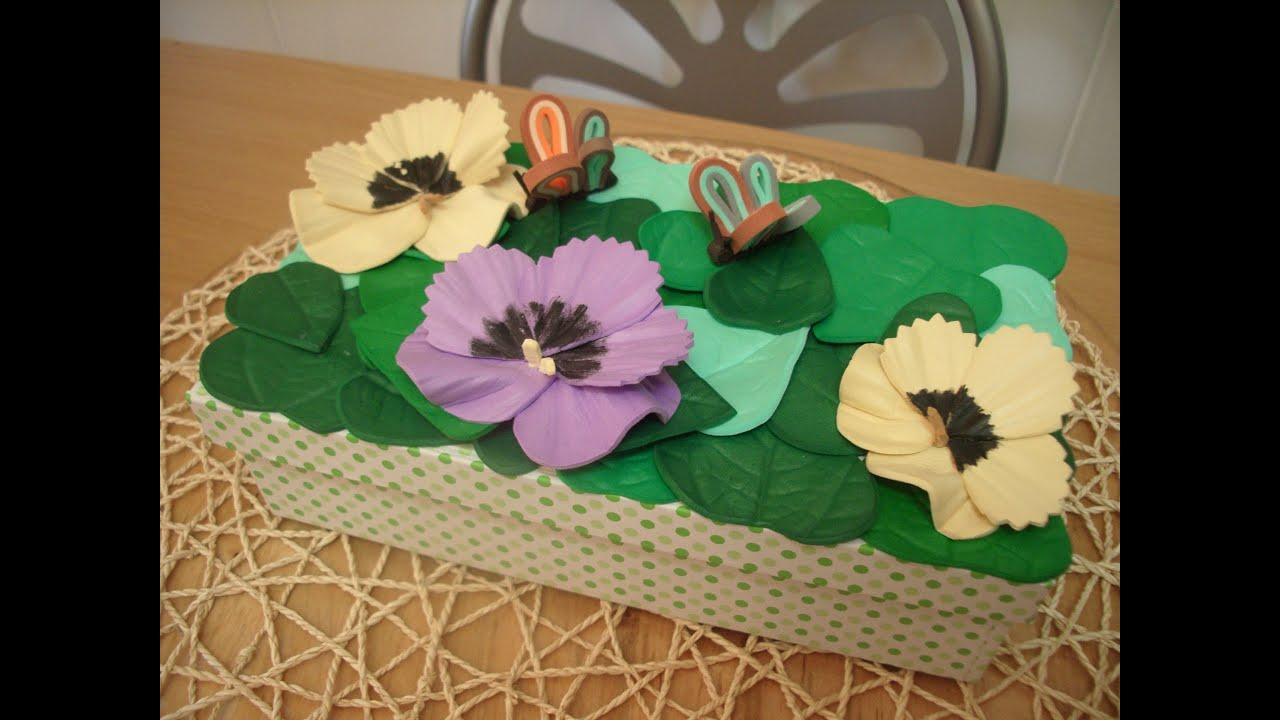 Como hacer hojas y petalos de flor en goma eva con molde - Como hacer flores ...