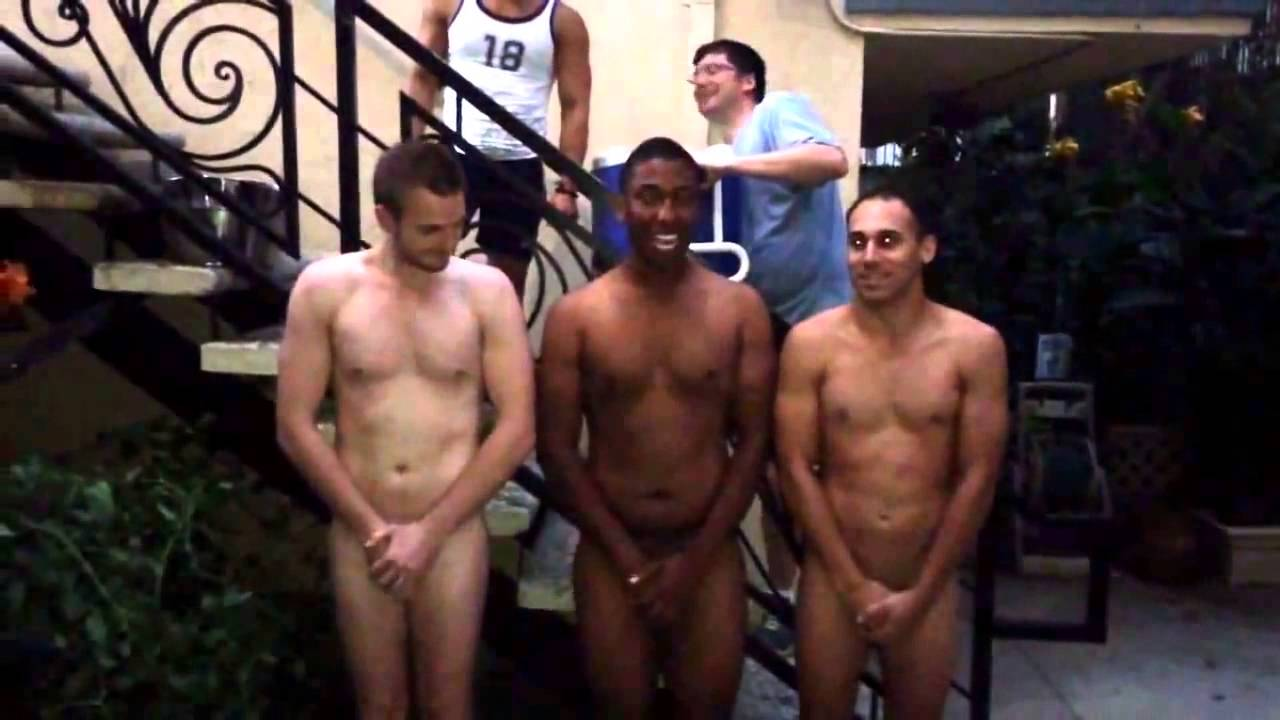 Naked Ice Bucket Challenge: Jason Bowers (And Friends)