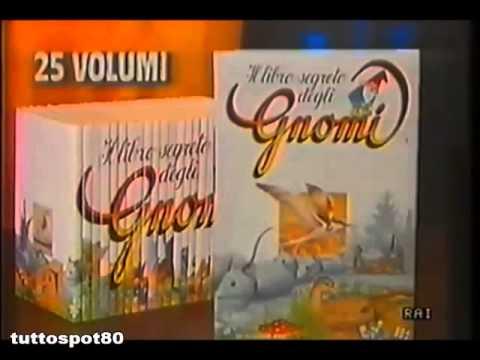 Spot IL LIBRO SEGRETO DEGLI GNOMI raccolta DEAGOSTINI 1986