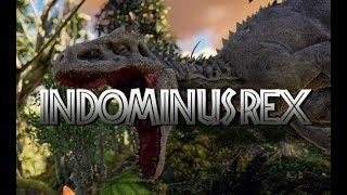 THE UNTAMEABLE KING: Indominus rex! [An ARK Mod Trailer]
