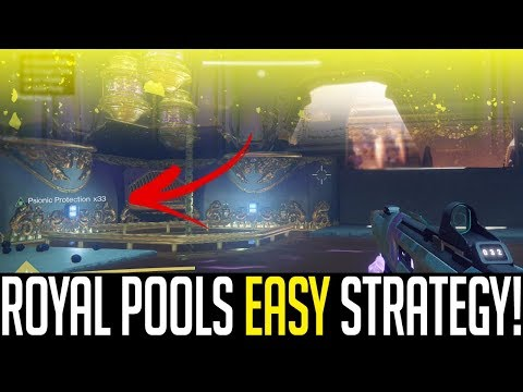 "Destiny 2 | ROYAL POOLS EASY STRATEGY! ""Leviathan Raid Walkthrough"""
