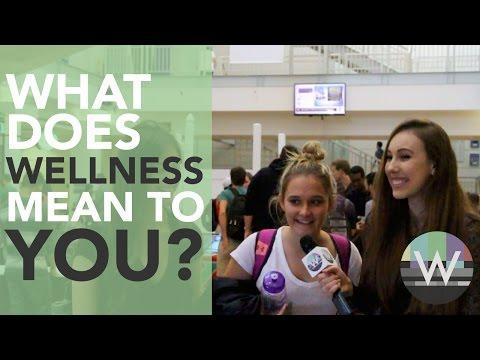 Students talk Wellness at University
