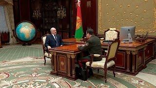 Вакульчик доложил Лукашенко об обстановке в сфере внешней и внутренней безопасности Беларуси