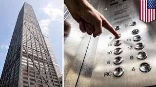ケーブル切れ ビルの95階からエレベーターが落下 トモニュース