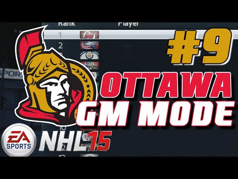 "NHL 15: GM Mode Commentary - Ottawa ep. 9 ""Offseason"""