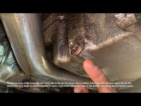 Possible places for a Oil leaks from cars, trucks and SUV's