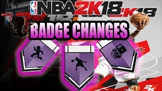 NBA 2K18 BADGE CHANGES - DEFENSIVE BADGES ANKLE BREAKER & PERSONALITY, REMOVAL AND ADDITIONS WE NEED