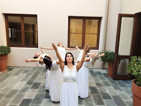 Greek ancient dance project (Priestesses Ancient Greeks) - Choreography Giannis Hatzigiannopoulos