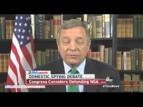 Dick Durbin for limiting the metadata collection by NSA; FISA court must have civil liberty advocate