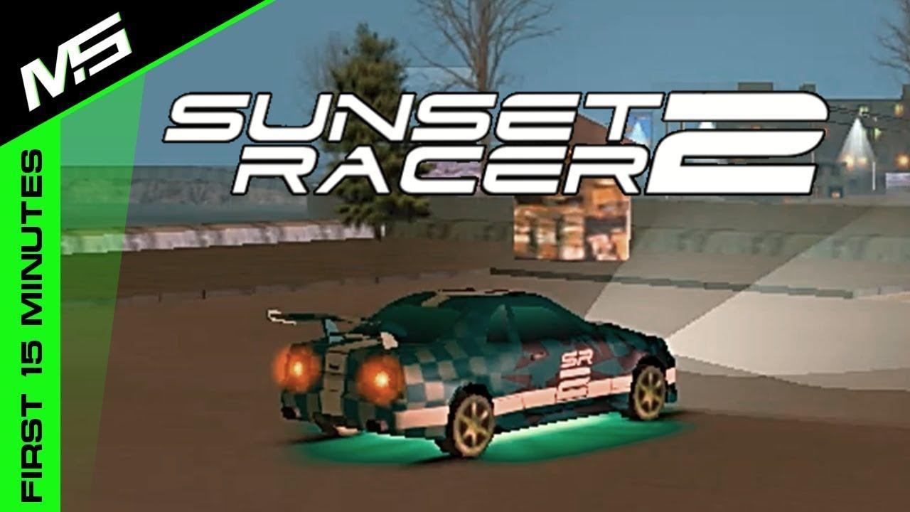 sunset racer game 2