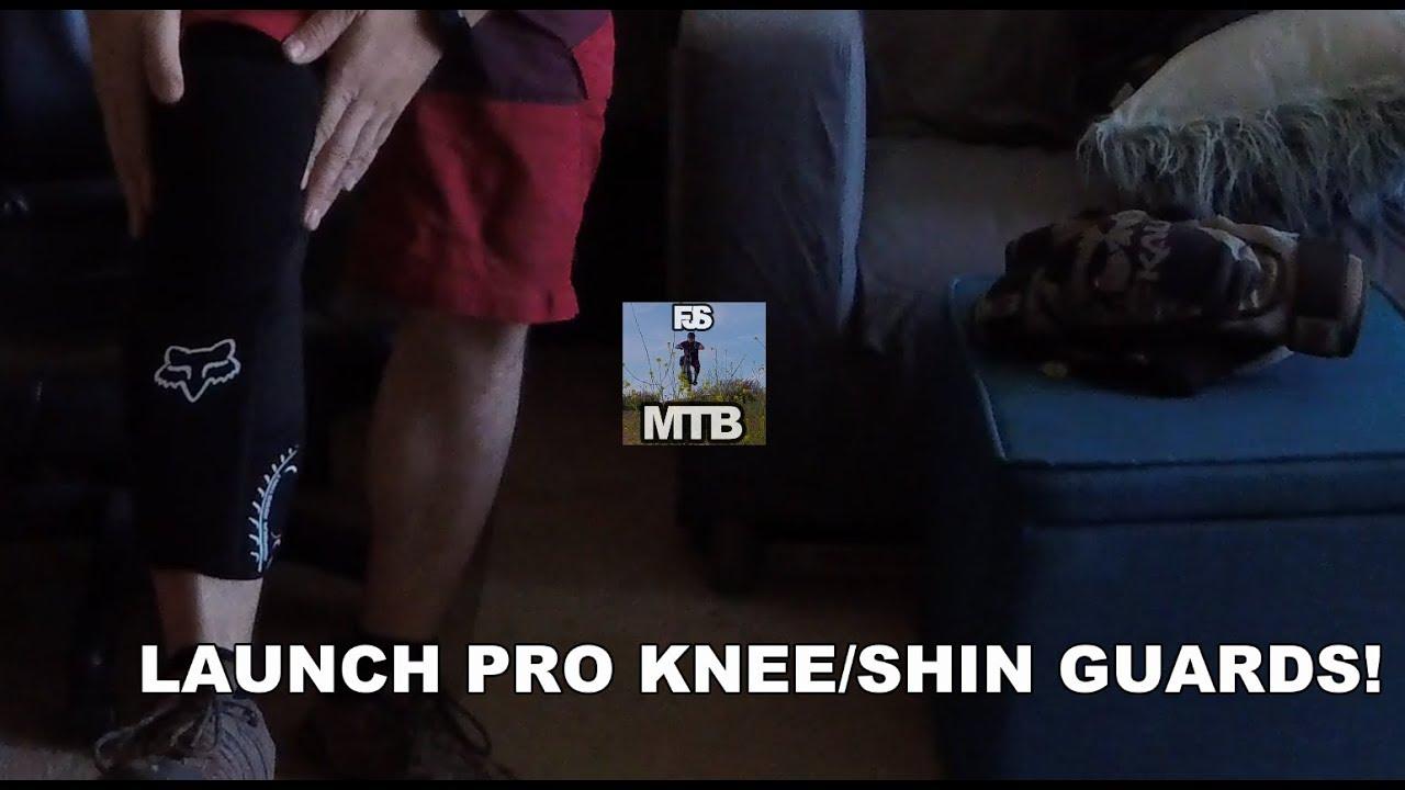 Fox Racing Launch Pro Knee Guard Pad Black