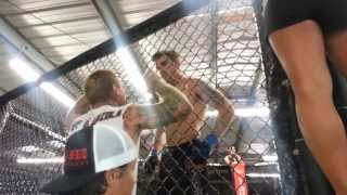 Steven Kozola MMA Fight- Compound Escondido July 20, 2013 (Full Fight)