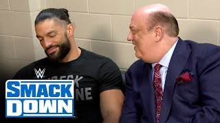 Roman Reigns turns to Paul Heyman ahead of WWE Payback: SmackDown, August 28, 2020