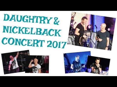 Daughtry & Nickelback Concert 2017