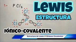 estructura de lewis paso a paso enlace covalente y inico