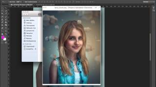 1. Фэнтези-коллаж. Урок Photoshop/Cinema 4D