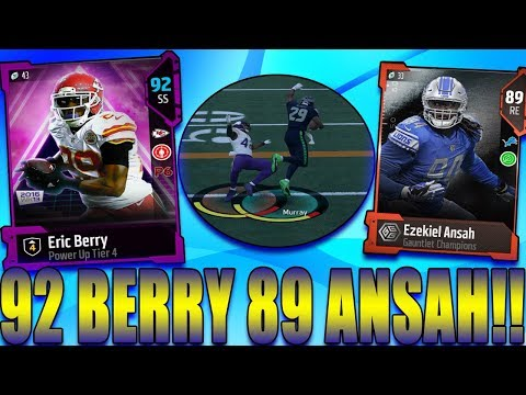 S2 Ep10 I Got Eric Berry Upgraded Too a Tier 4 CJ Mosley Gets Two Picks One Being a Pick Six