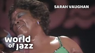 Sarah Vaughan - Dindi - 12 July 1981 o World of Jazz