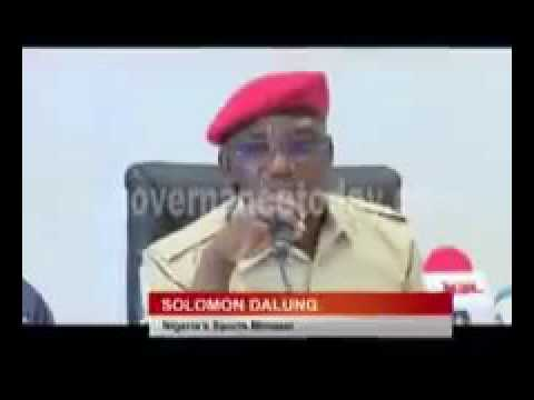 Solomon Dalung (Sports Minister) calls USA United States of Nigeria
