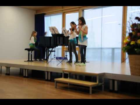 Second Prize Rotary competition Aegerital 2013 for the Beatle Girls.