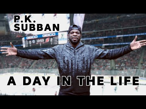 The Extraordinary Ordinary Life Of A NHL Player | P.K. Subban vlogs