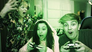 Kids get caught playing Fortnite at 3am, Mom freaks out…