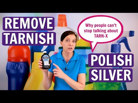 How to Remove Tarnish and Polish Silver Tarn-x Product Review