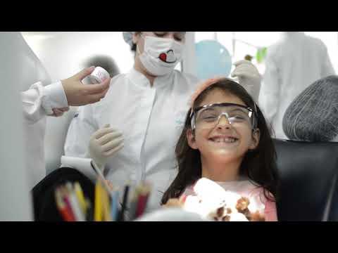 Atendimentos infantis na Clínica Odontológica