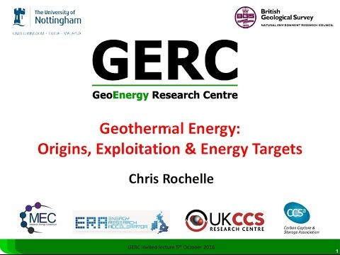 Geothermal Energy: Origins, Exploitation and Energy Targets