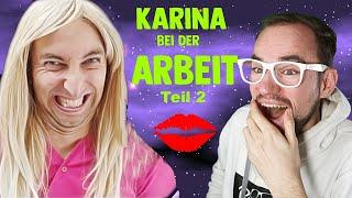 Karina bei der Arbeit ( TEIL 2 ) - Schönheitssalon💉 | Freshtorge | REACTION