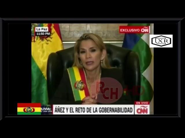 JEANINE AÑEZ, PRESIDENTA DE BOLIVIA