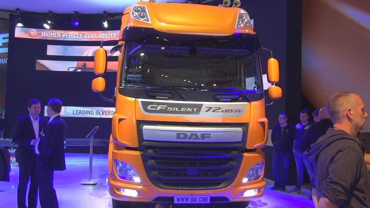 DAF CF 440 FT Silent Tractor Truck (2017) Exterior and Interior