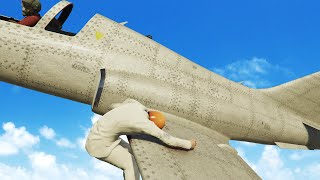 HOLD ON TO THE PLANE! (GTA 5 Funny Moments)