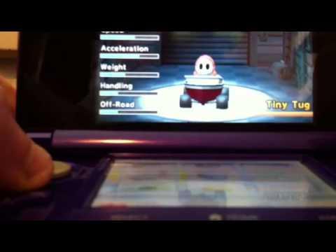 Mario Kart 7 Good Kart Combinations Youtube