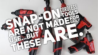Snap-on Cordless Tools Are Not Made For Daily Use...But These Are.
