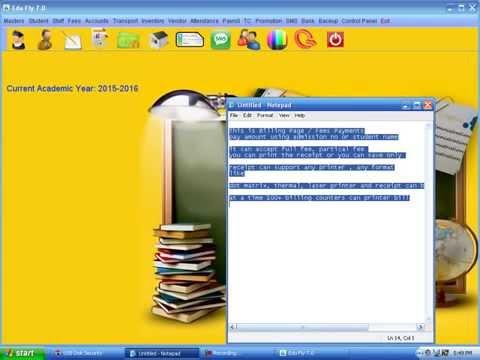 School Software Demo