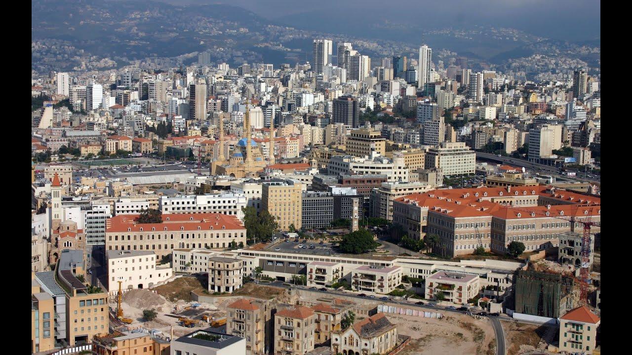 beirut la capitale del libano perla al mar mediterraneo
