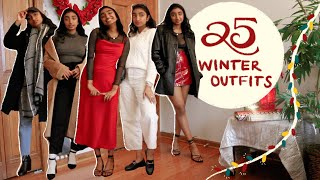 25+ WINTER OUTFITS | Casual and Holiday Outfits