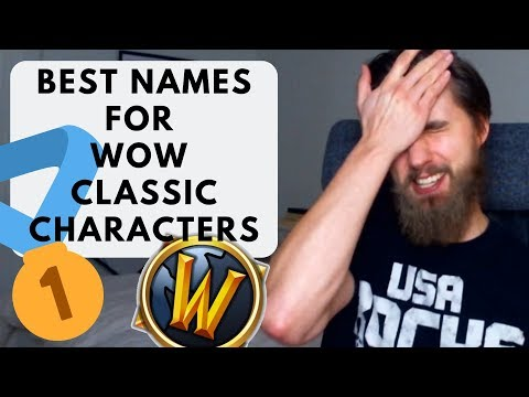 BEST Names For WoW Classic Characters!