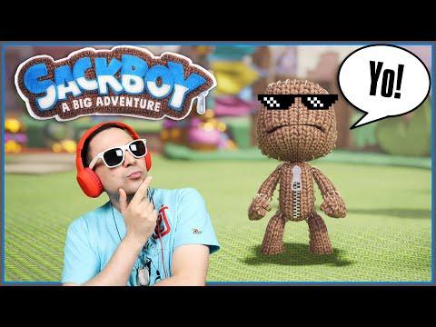 Ο Sackboy Μιλάει Ελληνικά! (Sackboy: A Big Adventure)