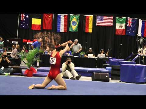 Mizuho Nagai - Floor - 2014 WOGA Classic